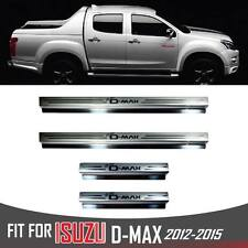 DENVER HOLDEN SILL SCUFF PLATE DOUBLE CAB 4 DOOR DUAL FOR ISUZU D-MAX D MAX 1214