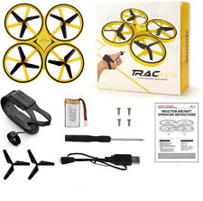 Tracker Drone RC Watch Control Aircraft Quadcopter Gravity Sensor Gift Toy Kids