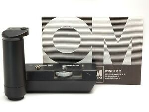 Olympus OM winder 2 for OM-1, OM-2, OM-4 - Working