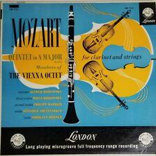 Vienna Octet - Mozart Quintet For Clarinet & Strings LP CM 9121 Vinyl Record