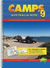 Camps Australia Wide 9 by Philip Fennell Spiral Book Free Shipping!