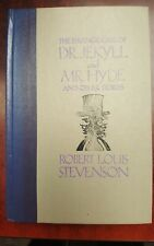 Dr. Jekyll and Mr. Hyde and other Stories Robert Louis Stevenson 1991 Hardcover
