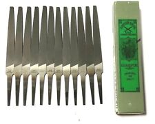 3//8 Width Thickness PFERD Hand File with Handle Coarse Square 10 Length American Pattern Double Cut