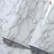 Marble Effect Contact Paper Film Self Adhesive Peel-stick Decor Wall Covering