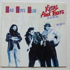 """MAXI 12"""" BAD BOYS BLUE Kisses and tears 602 155 213"""