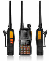 Baofeng GT-5 *Dual PTT* 2m/70cm Band VHF UHF Ham Two-way Radio Walkie Talkie US