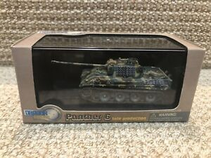 Dragon Armor 1:72 Panther G, Late Production, Western Front 1944-45, No. 60012