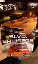 Hot Wheels Blvd Bruisers 69 Charger General Lee The Dukes Of Hazzard Real Riders