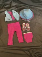 American Girl Doll  Girl of Today Magenta Meet Outfit Pleasant Company EUC