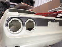 Mazda Rx2/Capella Rear Tail Light Garnish -GREY