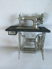 Miniature Antique Style Sewing Machine, Dollhouse w Amazing Detail!