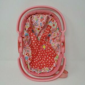 Hasbro Baby Alive Carrier 2007 5-in-1 Go Bye Bye Pink