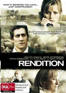 Rendition DVD Jake Gyllenhaal - Reese Witherspoon Movie