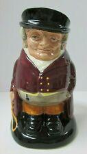 "Vintage Royal Doulton The Huntsman Large 7"" Character Toby Jug Hand Decorated"