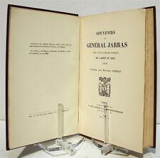 Souvenirs du général JARRAS chef d'État-Major Général de l'Armée du Rhin - 1870