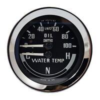 Smiths Classic Oil & Water Gauge (MGB, Midget & Austin Healey Sprite) BHA4900