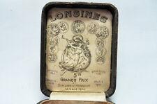 LONGINES  Taschenuhren  Box  Etui  Schatulle  Schachtel  Pocket  Watch  um 1906