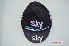 Casquette jersey cap signed Elia Viviani team Sky tour de France 2017 cycling