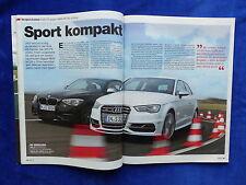 BMW M135i vs. Audi S3 - Vergleichstest - Auto Motor Sport Heft 09/2013