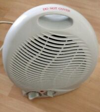 Upright Fan Heater White Portable FH04B 240v 1800-2000w 2kw Electric