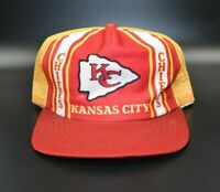 Kansas City Chiefs NFL Vintage 80's New Era Trucker Snapback Cap Hat