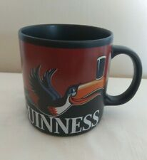 More details for guinness toucan coffee large mug black - advertising - new without tags
