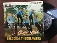 "Freddie And The Dreamers: Over You Rare EP: 7"" Single  Free UK Post"