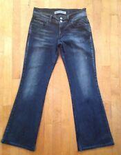 Express Precision Fit Seffaro Jeans Size 6 Ash Black Boot Cut Denim Pants