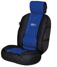 Sumex Lumbar Back Protection Car Cushion Cushioned Seat Cover - Black & Blue #55