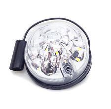 For Land Rover Defender 88 90 109 110 Amber LED Clear Front Indicator Lamp Lig