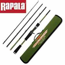"Rapala Trail Blazer TRAVEL Spin Rod TBS644L 6'4"" 4 Piece 4-10lb + Hard Case"