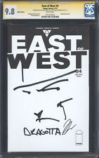 EAST OF WEST #4 (Sketch Var) CGC 9.8 SS / 2x Signed & sketch Hickman & Dragotta!