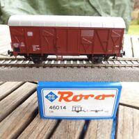 ROCO 46014 gedeckter Güterwagen Gkks der DB Ep.4 neuwertig in OVP