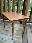 Antique Vintage Small Wood Folding Table