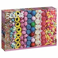 Jumbo Jumbo Premium Puzzle Collection 'Sweets' 500 Piece Jigsaw Puzzle