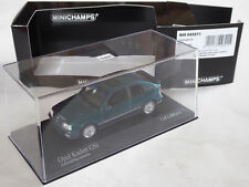 """Minichamps 1/43 Opel Kadett GSi E """"Admiralblau"""" = Grün Green OVP 400 045971 D C"""