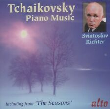 """[BRAND NEW] CD: TCHAIKOVSKY: PIANO MUSIC INCLUDING """"THE SEASONS"""": RICHTER"""