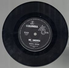 EC Australian 45 rpm Record RUSSELL MORRIS Mr America / Stand Together