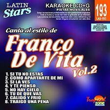 Karaoke Latin Stars 193 Franco De Vita Vol. 2