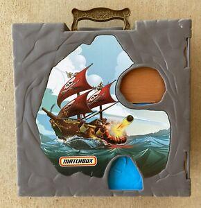 MATCHBOX 360 POP-UP FOLD OUT PLAY SETS  PIRATE SHIP year 2006 MATTEL