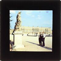 FRANCE Château Versailles 1955 Snapshot Photo Plaque Projection