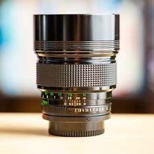 Rare Canon FD 135mm f/2 nFD New FD 1:2 Legendary + Filtre !! Super Offre !!