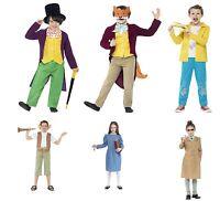 Kids Roald Dahl Book Week Character Childrens Boys Girls Fancy Dress Up Costume