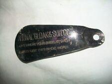 """Vintage National Cloak & Suit Co.BLACK IMPRINTED *READABLE* 3 1/2"""" Long"""