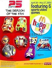 2004 McDonalds ESPN Sports MIP Complete Set - Lot of 6, Boys & Girls, 3+
