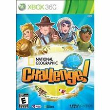 NEW SEALED XBOX 360 -- National Geographic Challenge (Microsoft Xbox 360, 2011)