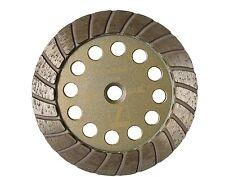 "6"" Disco turbo diamond cup wheel/wheels(coarse) -- excellent balance, aggressive"