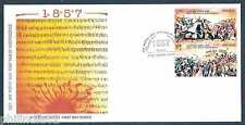India 2007 War of Independence Se-tenant Phila- 2281 FDC
