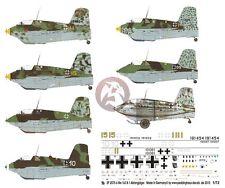 Peddinghaus 1/72 Me 163 B-1 Luftwaffe Standard & Maintenance Markings WWII 2075