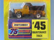 Matchbox USA Issue Gold Challenge Maintenance Truck Toy Model Car